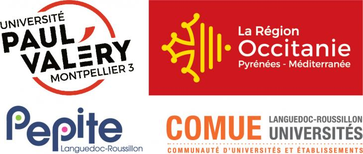 Logo UPV et partenaires