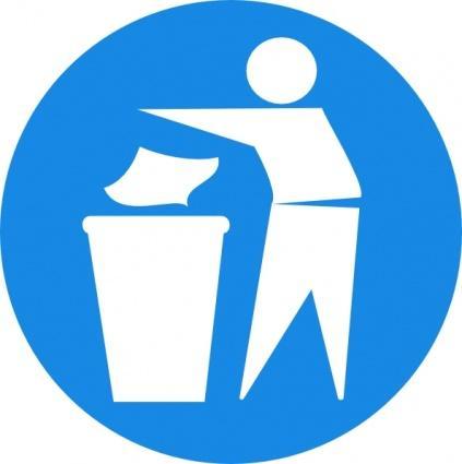 Visuel poubelle